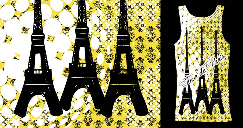 Fleur de Paris by taviarose on Threadless