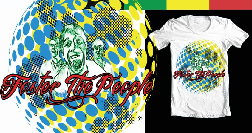 Foster the People Global by taviarose on Threadless