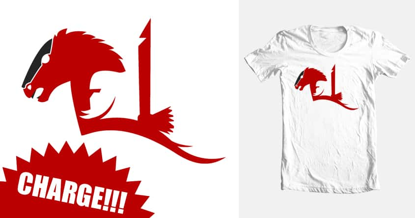 Charge! by Grogri on Threadless