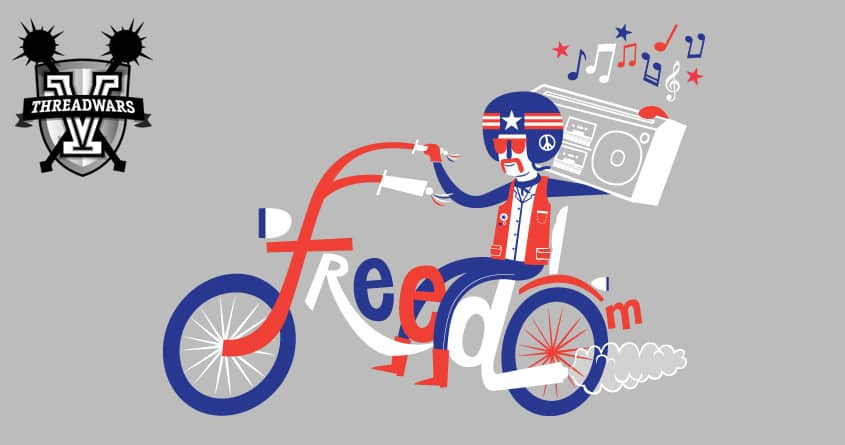 Freedom by Wharton on Threadless