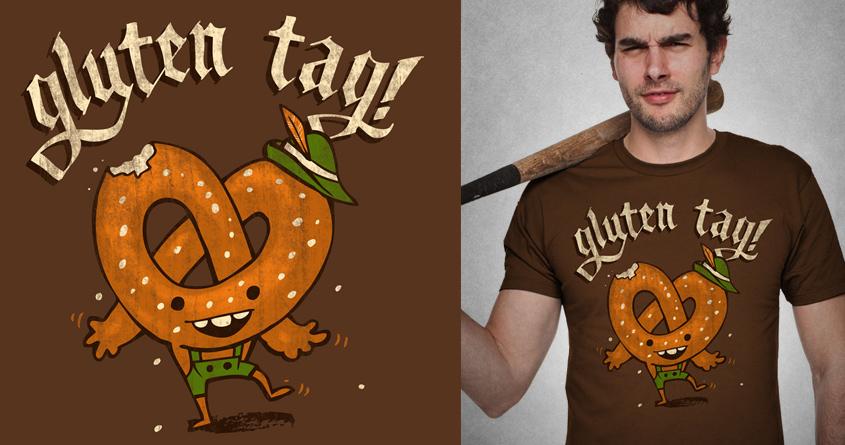 Gluten Tag! by briancook on Threadless