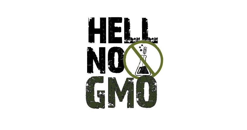 Hell No GMO by kristen417 on Threadless