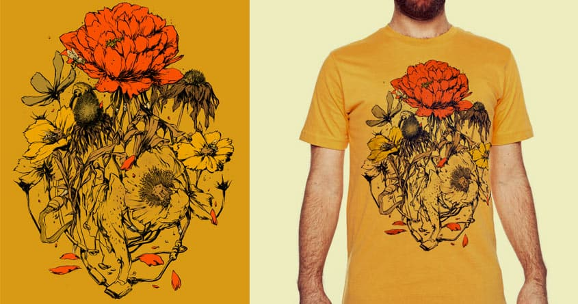 Herbal Network by hafaell on Threadless