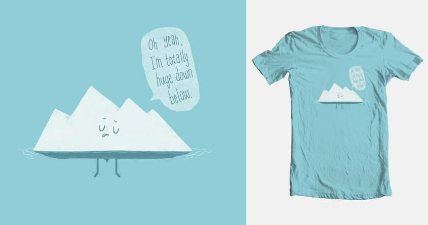 What LIES Below by murraymullet on Threadless