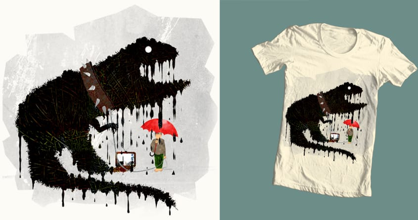 Imagination Overload by JanPious on Threadless