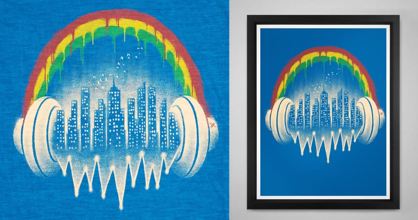 In the city by barmalisiRTB on Threadless