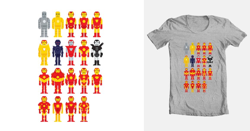 Iron Man Armory by Smug Liberal Minority on Threadless