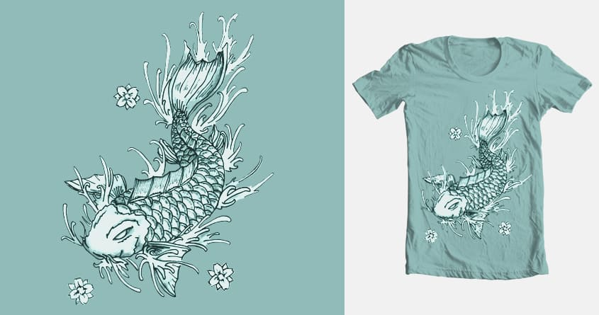 Koi Fish by Mikeeyy on Threadless