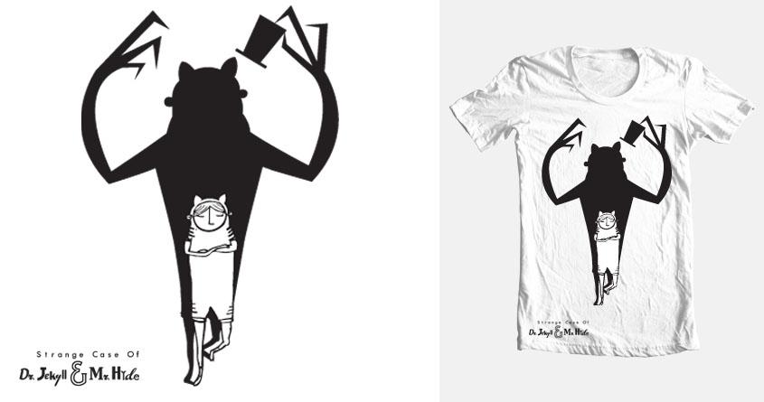 Jekill & Mr. Cat by Boddoque on Threadless
