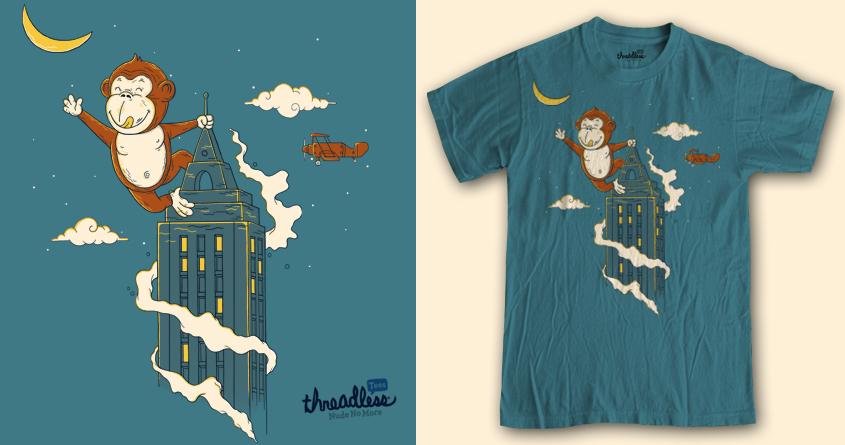 i want the (banana) moon by koedabesi on Threadless