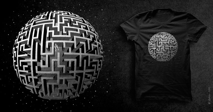 Lost in Space by v_calahan on Threadless