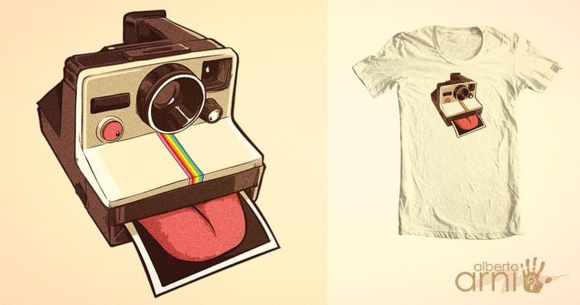 Licka-roid by albertoarni on Threadless