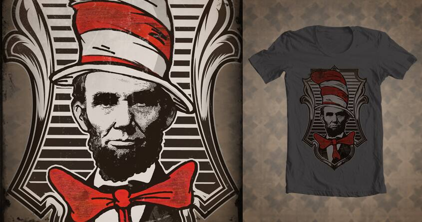 The Prez in the Hat by stephone.handy on Threadless