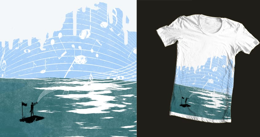 Lost in Music by JanPious on Threadless