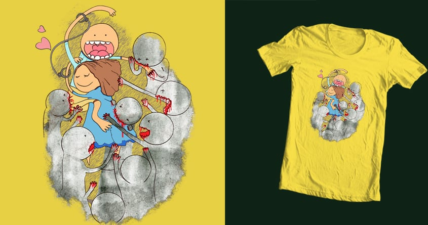 Love till the end by JanPious on Threadless