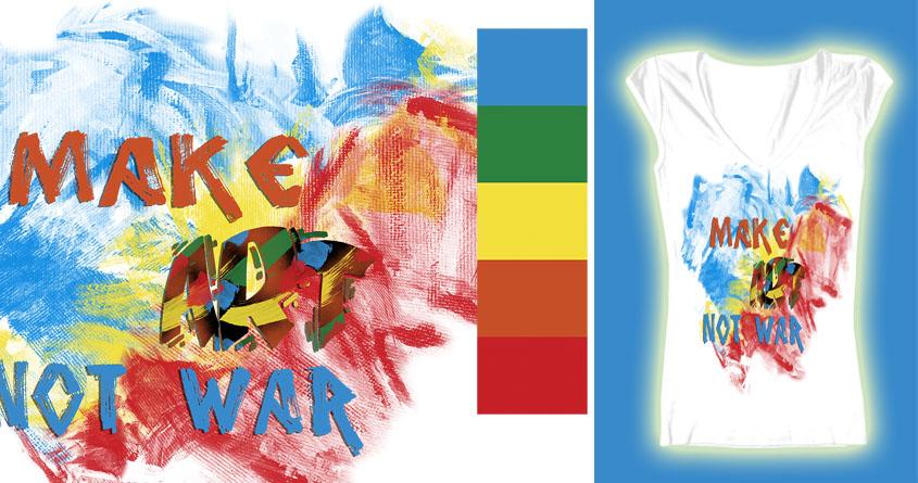 Art Not War by taviarose on Threadless