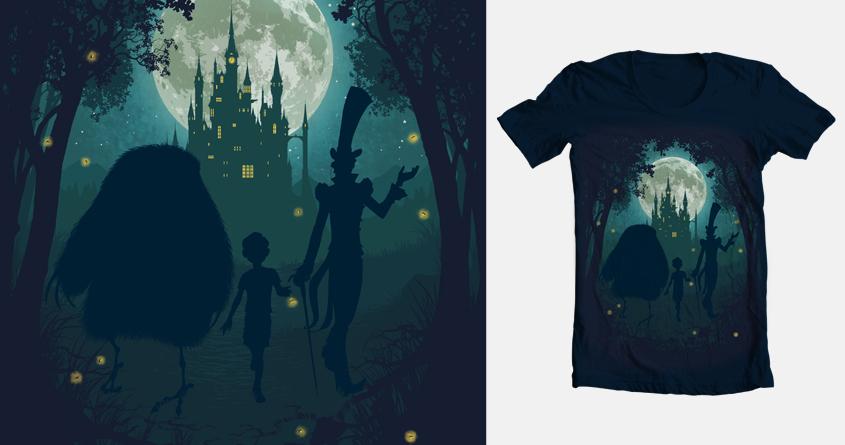 Midnight Stroll by Chimaera Wear on Threadless