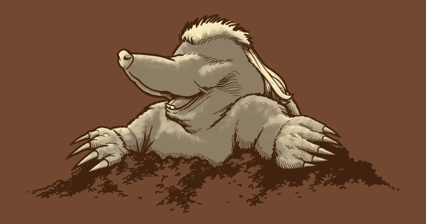Mole-let by Musarter on Threadless