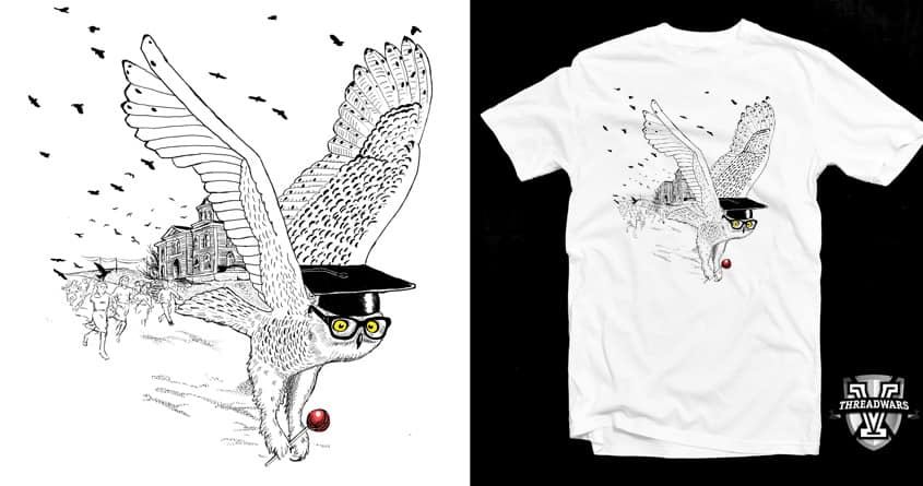 Mister Owl by robotwaste on Threadless
