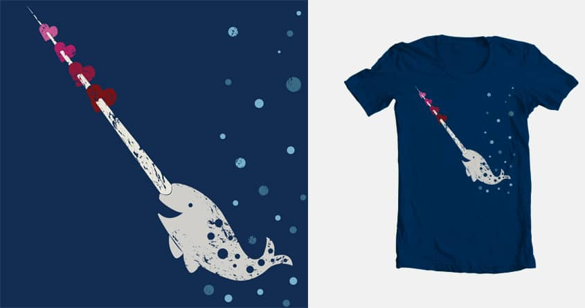 I <3 Narwhals by JessieSima on Threadless
