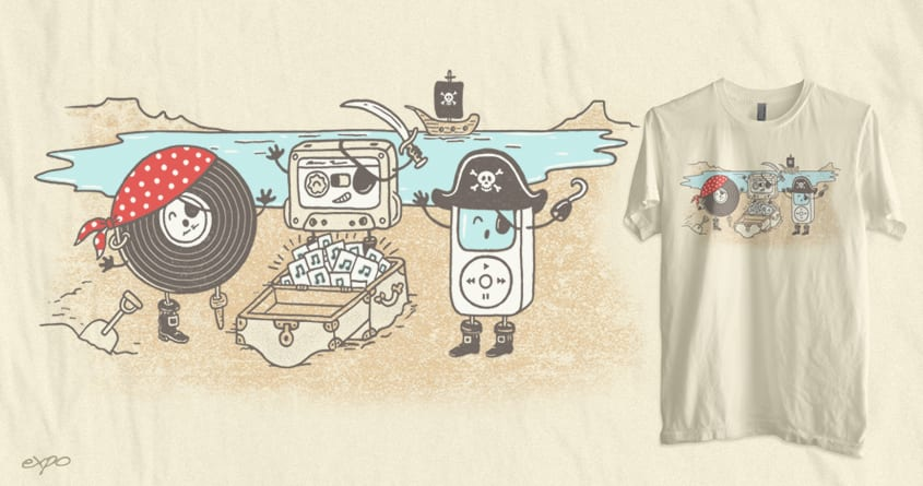 Music Pirates by expo on Threadless