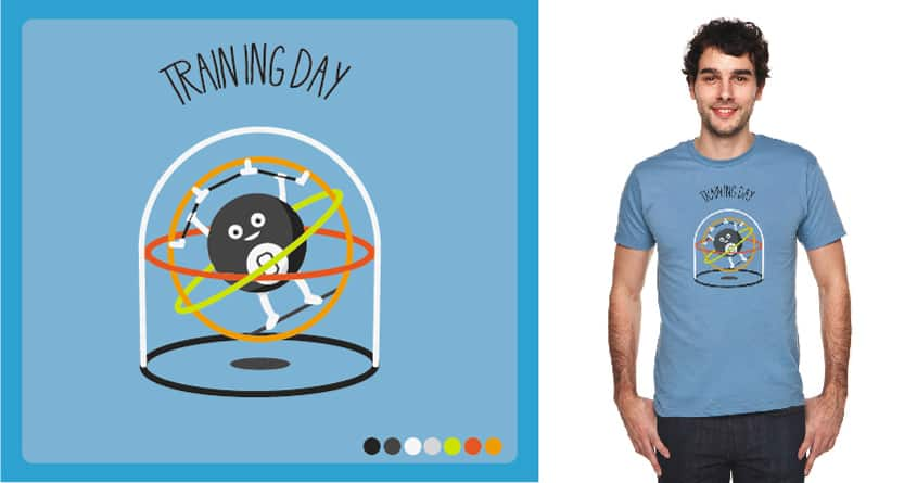 Training Day by javierv007 on Threadless