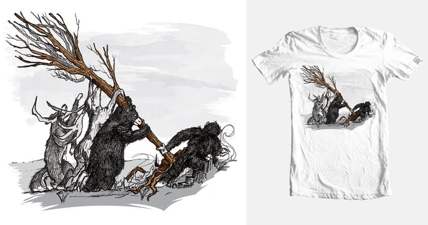 Nature will overcome by alpha_Biosphere on Threadless