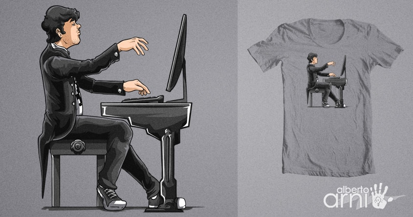 It's Not Only a Game, It's Art by albertoarni on Threadless