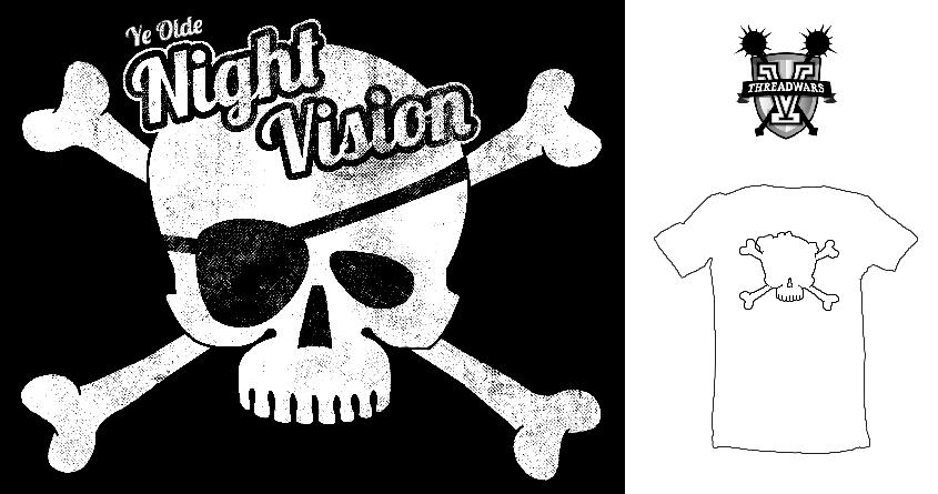 Ye Olde Night Vision by 5eth on Threadless