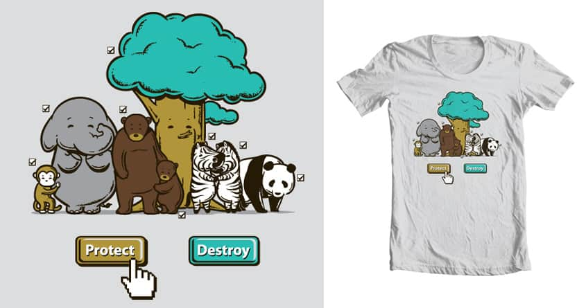 Protect by Flying_Mouse on Threadless