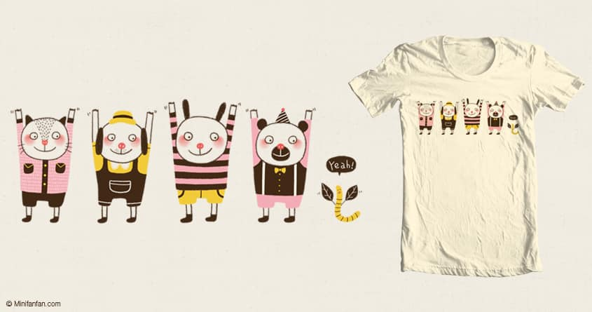 Put Your Hands Up in The Air by minifanfan on Threadless