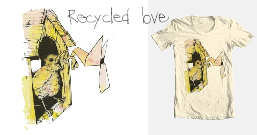 Recycled Love by laurent.claveau on Threadless
