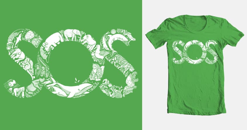 SOS by kjayne89 on Threadless