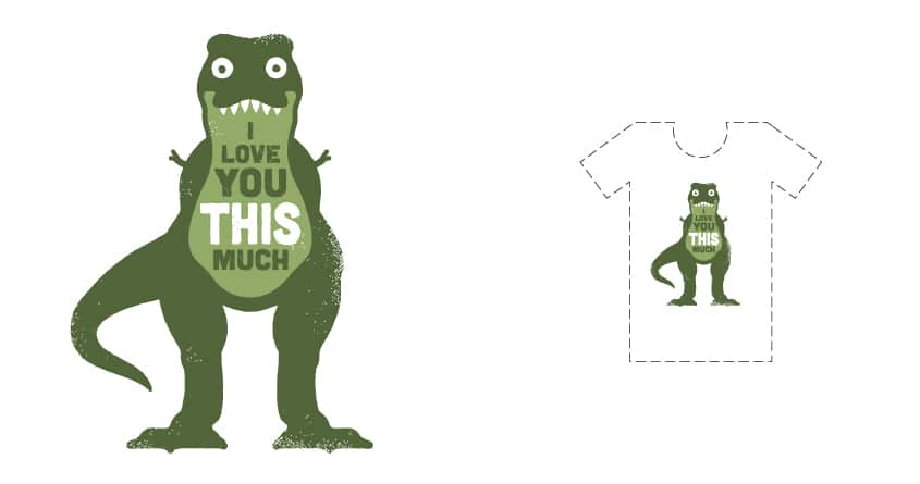 Amourosaurus by DRO72 on Threadless