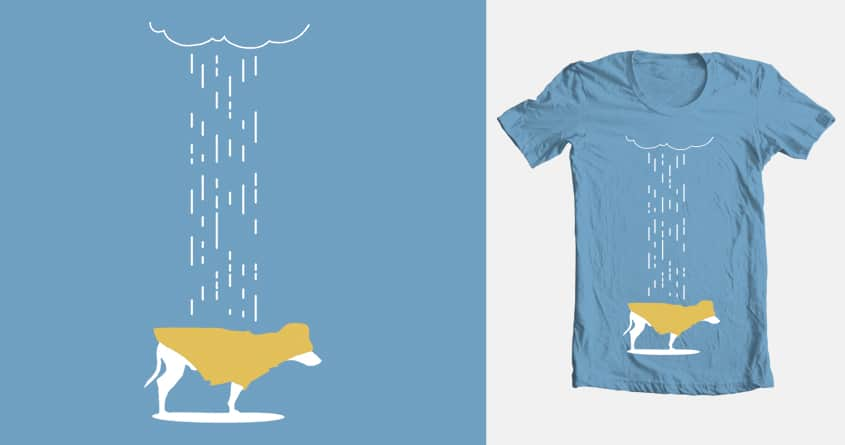 He hates the rain. by Monochre on Threadless