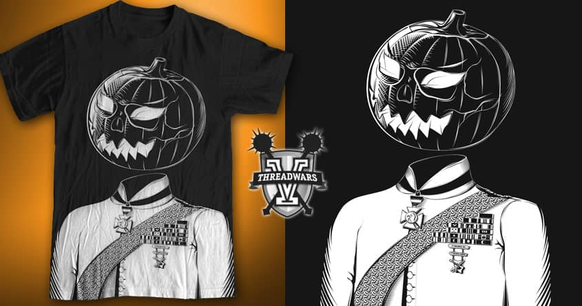 Sir Halloween by bortwein on Threadless