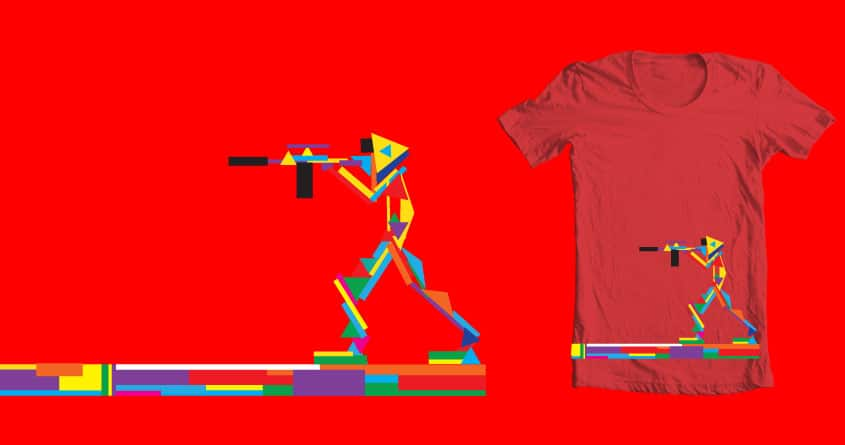 Shaped Up Soldier by TheOnlyLapenia on Threadless