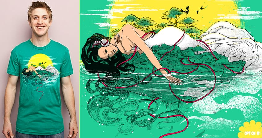 Sounds of Paradise by anwarrafiee on Threadless