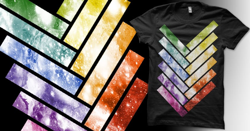 Galaxy Stairway by rieon on Threadless