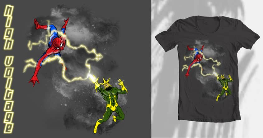 High Voltage  by Orbanya on Threadless