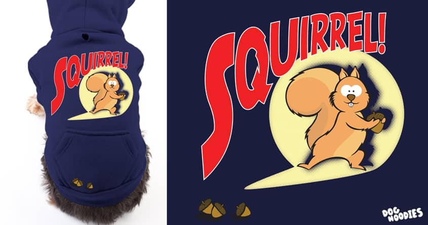 Squirrel! by katersbonneville on Threadless