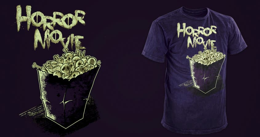 Horror Movie by Xinforinfura on Threadless