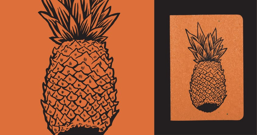 A Pineapple by bensart on Threadless