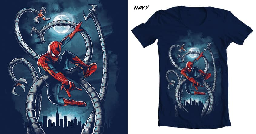 Tangled Web by cpdesign on Threadless
