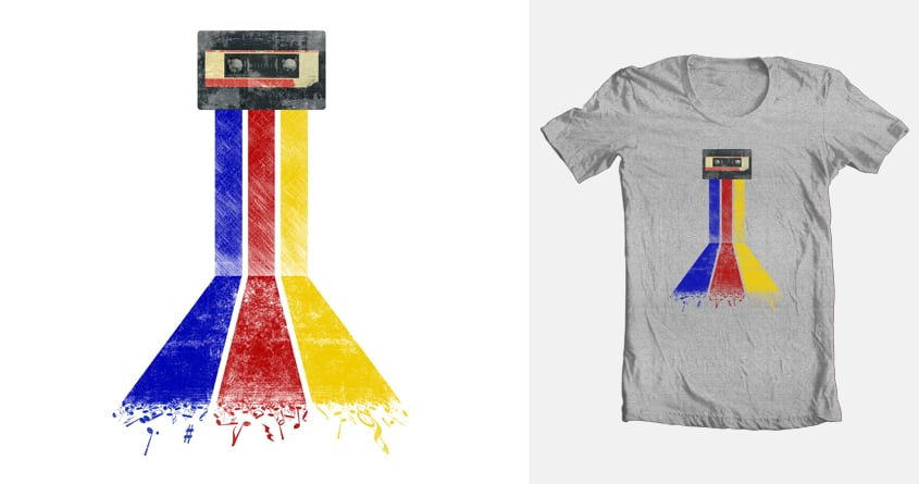 Flow of Music by The_Saint_X on Threadless