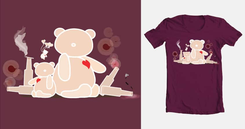A night with Ted by Carman Petite on Threadless