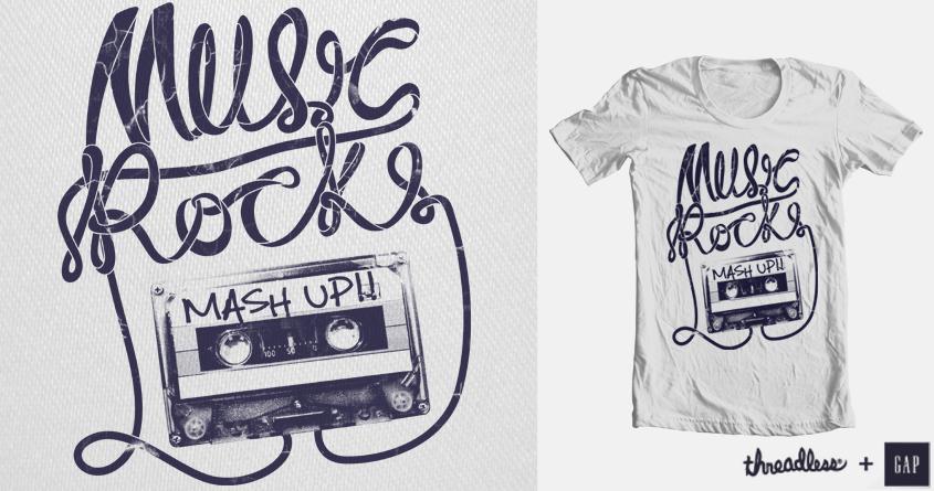 Music Rocks by _EffinSweet_ on Threadless