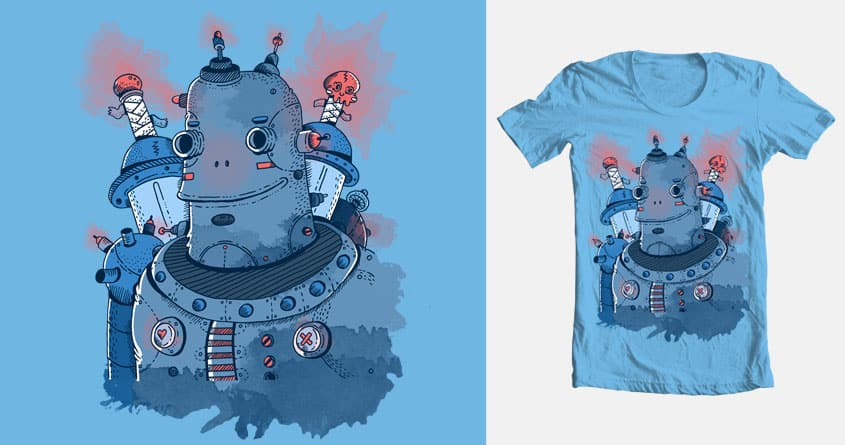 Warbot by jean_warhol on Threadless