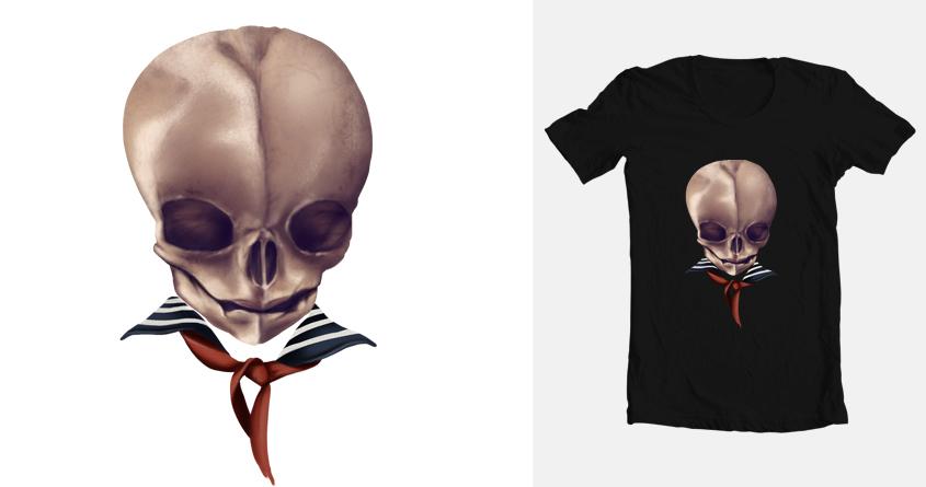 Skull Baby by Ponyboyed on Threadless
