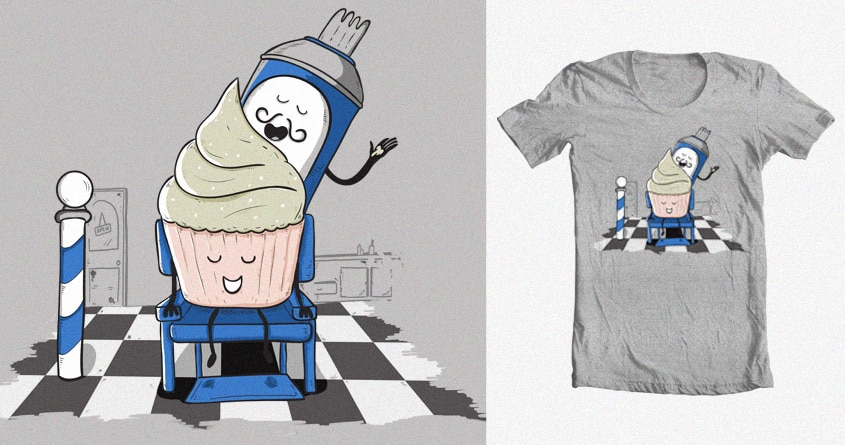 The Quiff by BubbleHezza on Threadless